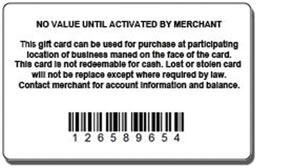 giftcard standard back